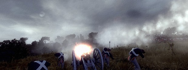 Cannon Fire  in DarthMod Napoleon