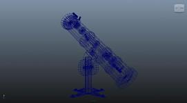Observatory Telescope model - beta