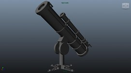 Observatory Telescope model - beta