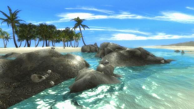 Saiwei Beach, Improved