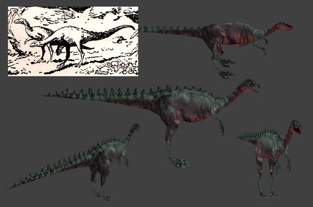 Compsognathus New Model