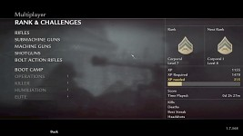 Reworked Challenge Menu