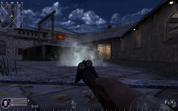 Double Barrel Shotgun image - World at War mod for Call of