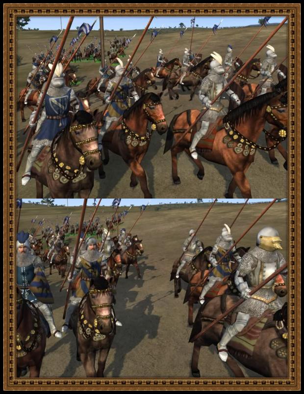 Скриншоты юнитов фракции Боснийский Банат мода Tsardoms (Medieval 2: Total War
