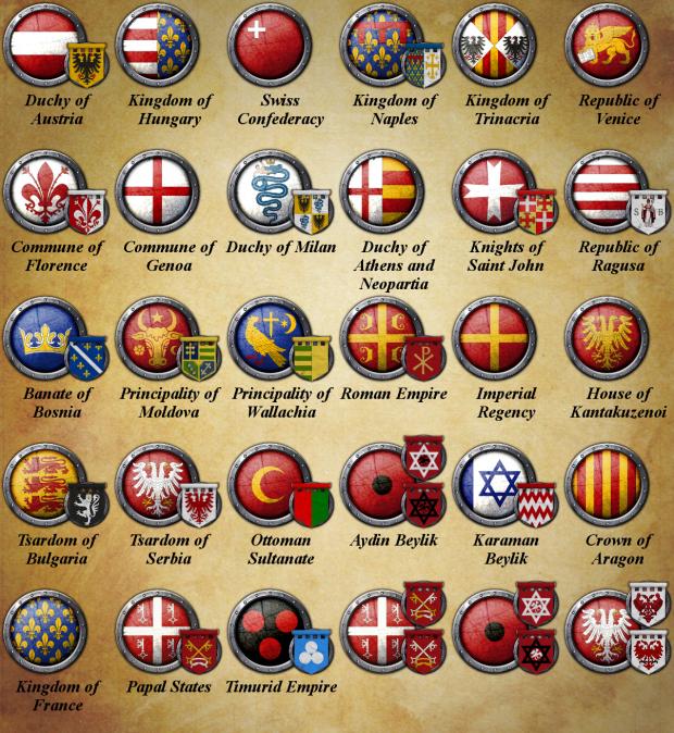 Factions image - Tsardoms Total War mod for Medieval II ...