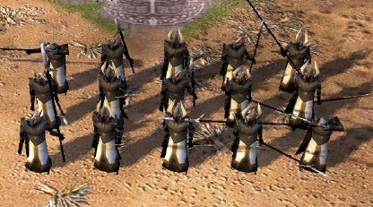 Tower Guards ingame