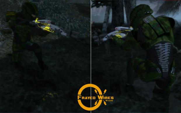 Redone Alliance Textures - Jungle Infiltrator