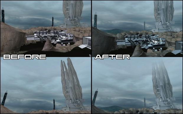 Eden Prime Lighting Overhaul (Cloudy Variant)