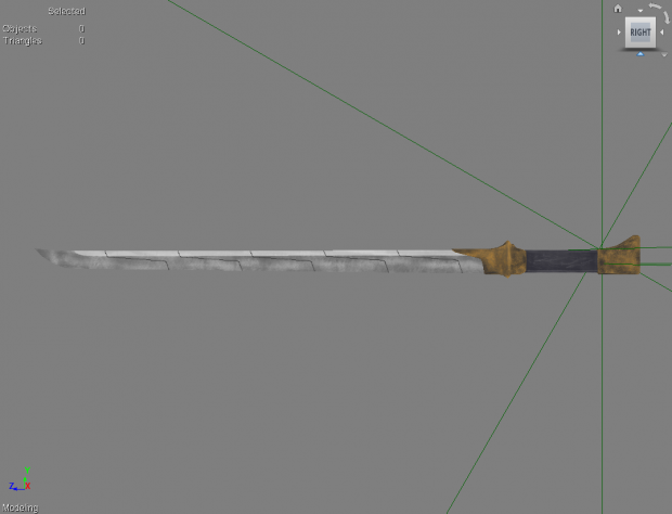 Monomolecular Blade completed