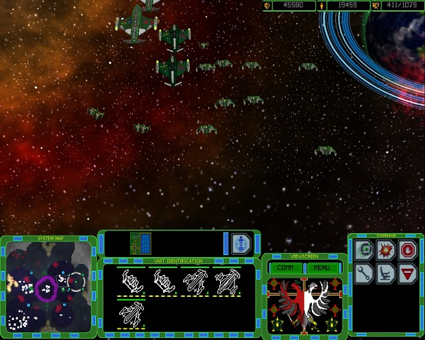 Terran Fleet on the Move