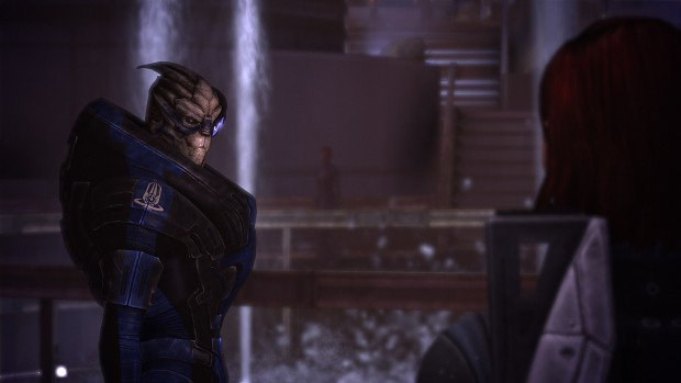 Garrus no lights