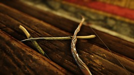 Elven bow and daggers