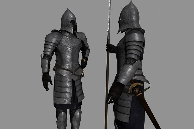 Gondorian plate armour by BGS