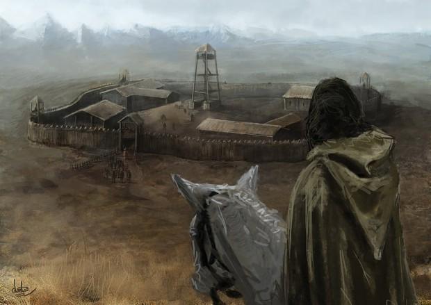 Concept - Rohan Fortress - Angatur