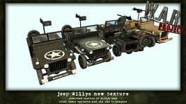 Willys Jeep - new texture