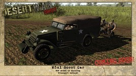 M3A1 White Scout Car - NEW MODEL!