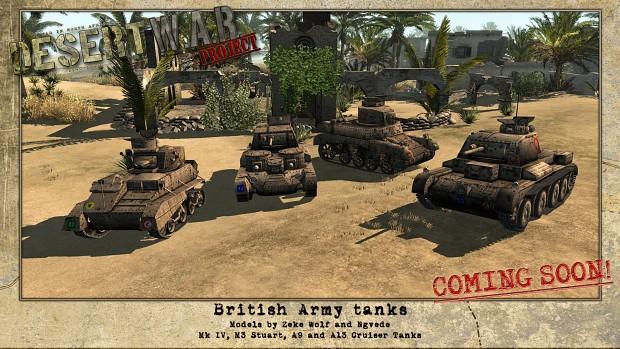 Desert War Project - WIP screenshots