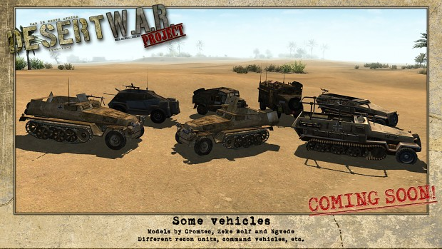 Desert War Project - WIP screenshots