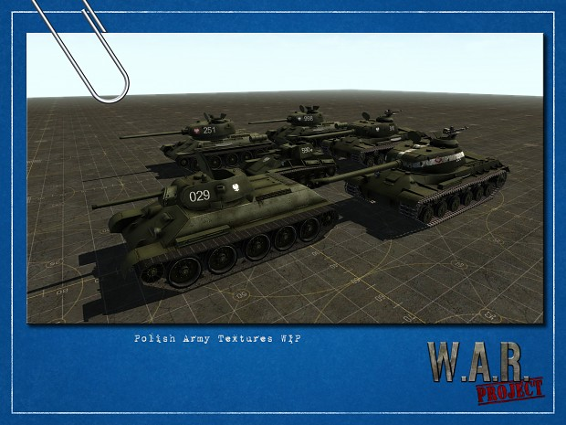 Polish Army tanks