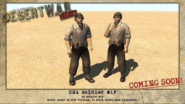 US soldier - new model & skin