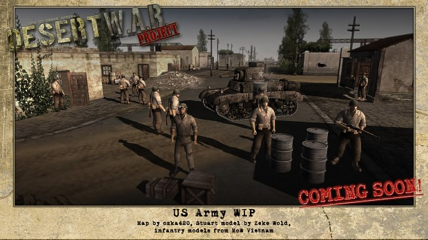 US Army WIP