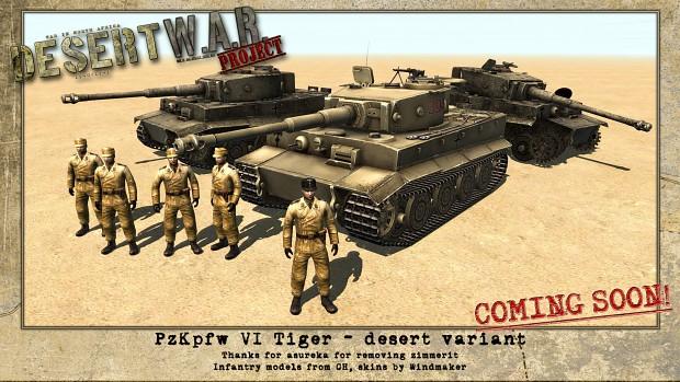 PzKpfw VI Tiger - desert variant