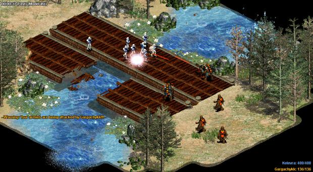 Expanding Fronts - Bridge Skirmish