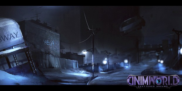 The Chase - Concept Art