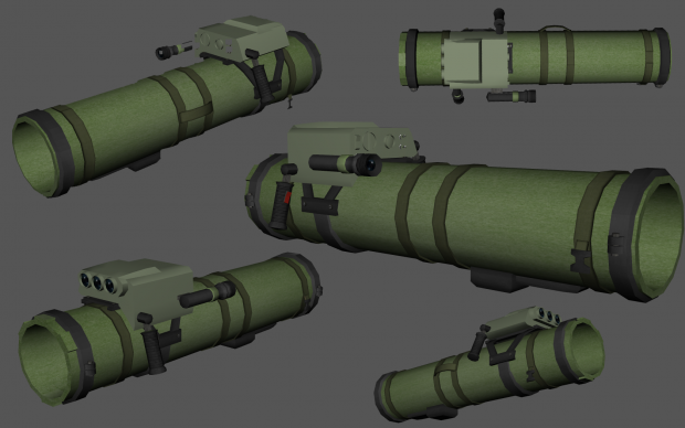 PORS Bumbar (Anti-Armor Missile system Bumblebee)