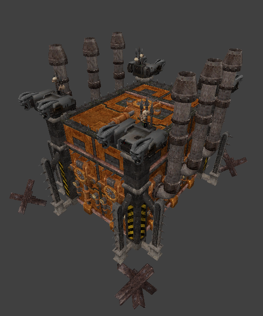 Iron Warriors Foundry (research Building) Image