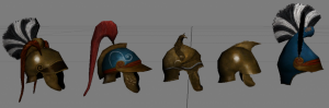 Helmets of Makedon