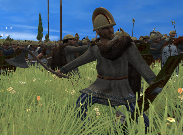 Raetic Infantry