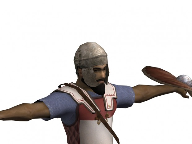 Late numidian infantry