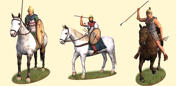 Thracian cavarly units