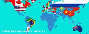 Beta 5.1 Countries with OOB's