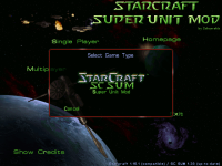 The new SC SUM 1.38 startscreen
