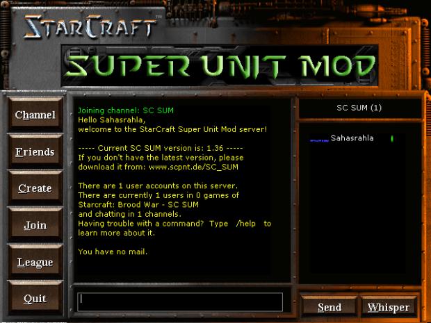 SC SUM server lobby