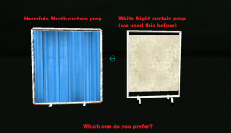 Which curtain do you prefer?