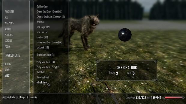 Orb of Aldur