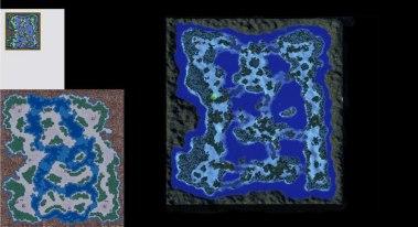 Cliffhanger Warcraft 2 map remake