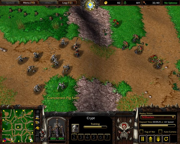 Gameplay Screenshots Orc vs Undead
