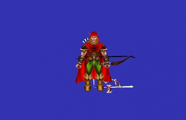 New Elven Ranger model