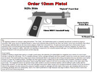 10mm Pistol Redux Preview