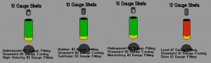 Expanded Shotgun Ammo Examples