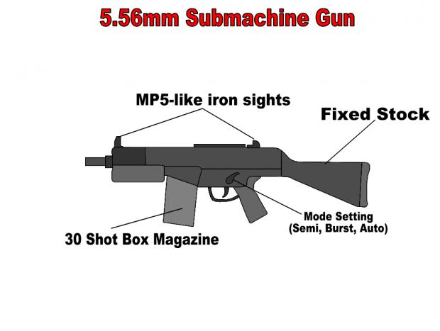 Submachine gun blueprint image hatchet mod for deus ex mod db submachine gun blueprint malvernweather Images