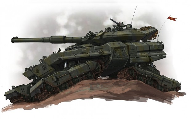soviet main battle tank idea for game