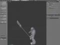 White Scars Spearmen 3d model