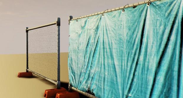 Tarp Fence
