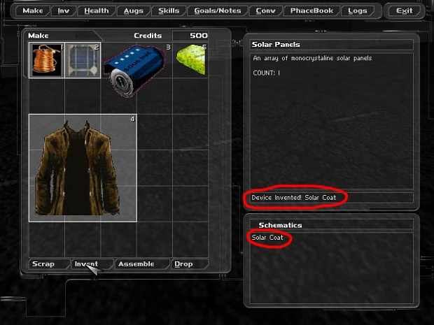 Making / Crafting System