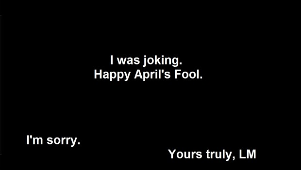 Happy April's Fool